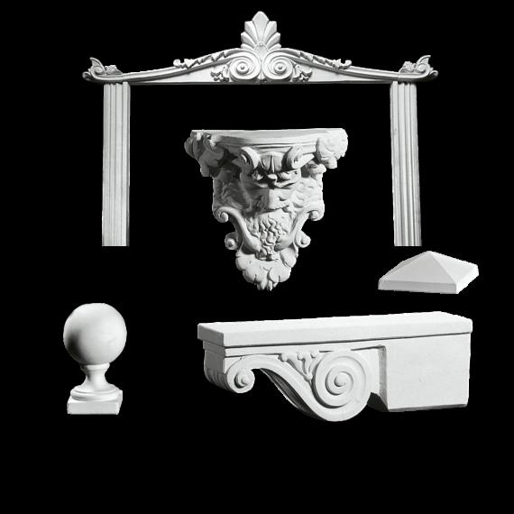 Marmor Bygningsdekoration